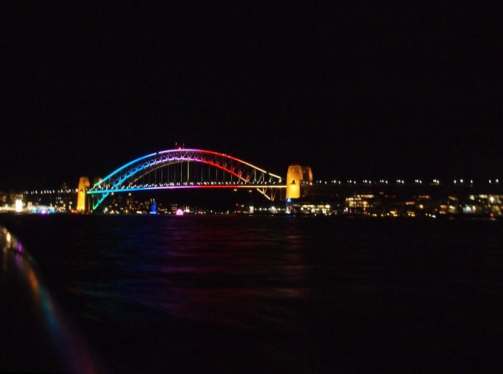 harbour bridge vivid