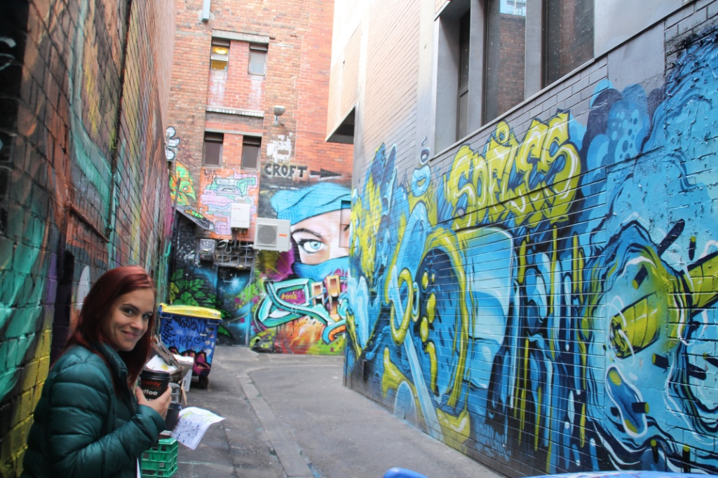 weltreise melbourne street art