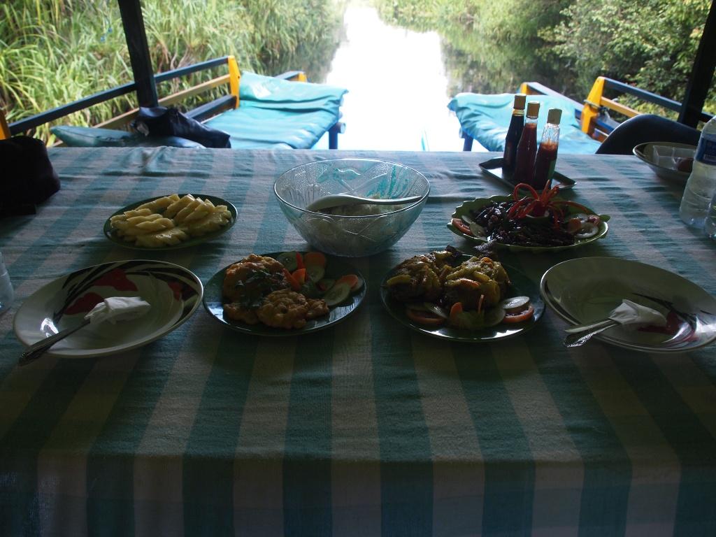 Essen Klotok Borneo