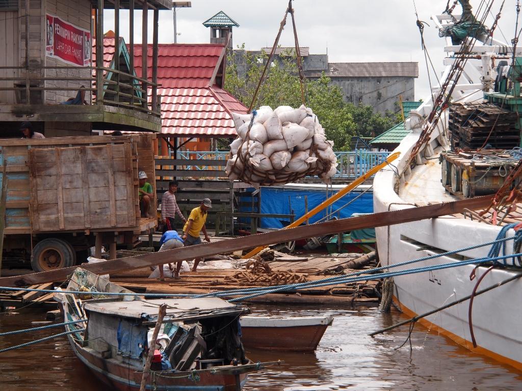 Hafen kumai