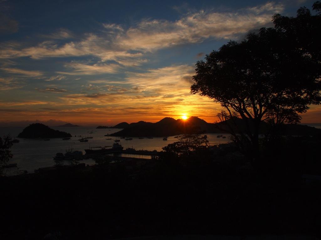 Sonnenuntergang Labuan Bajo