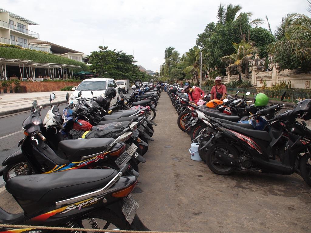 Motorräder Bali