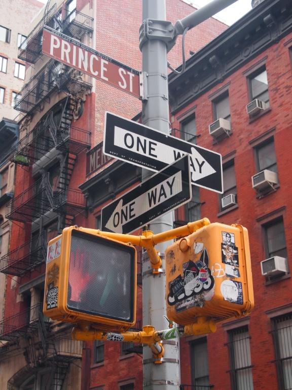 Prince Street New York