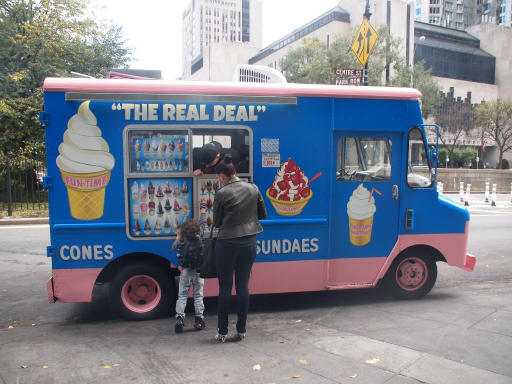 Icecream Van NY